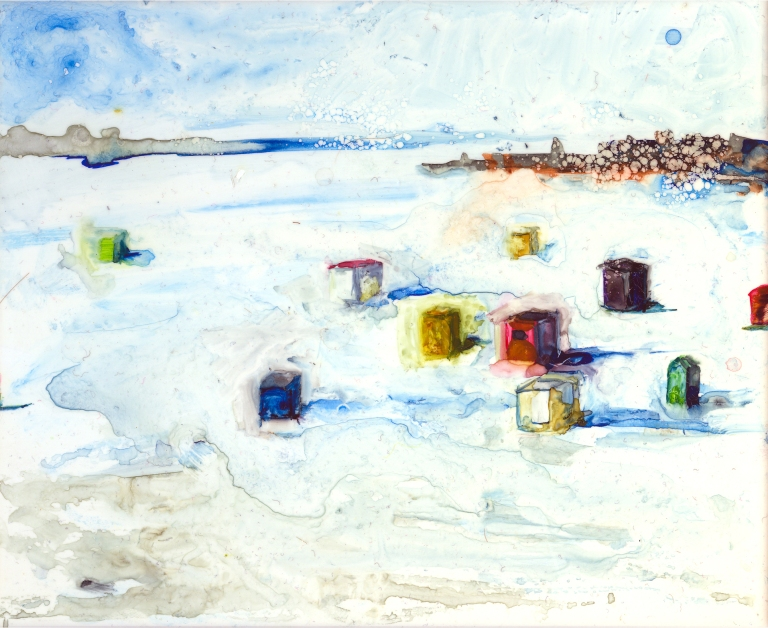 Icehouses by Lisa Leppa